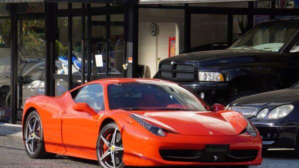【フェラーリ・458イタリア F1 DCT】